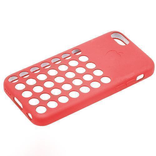Чехол-накладка для Apple iPhone 5C силиконовый красныйдля iPhone 5C<br>Чехол-накладка для Apple iPhone 5C силиконовый красный<br>