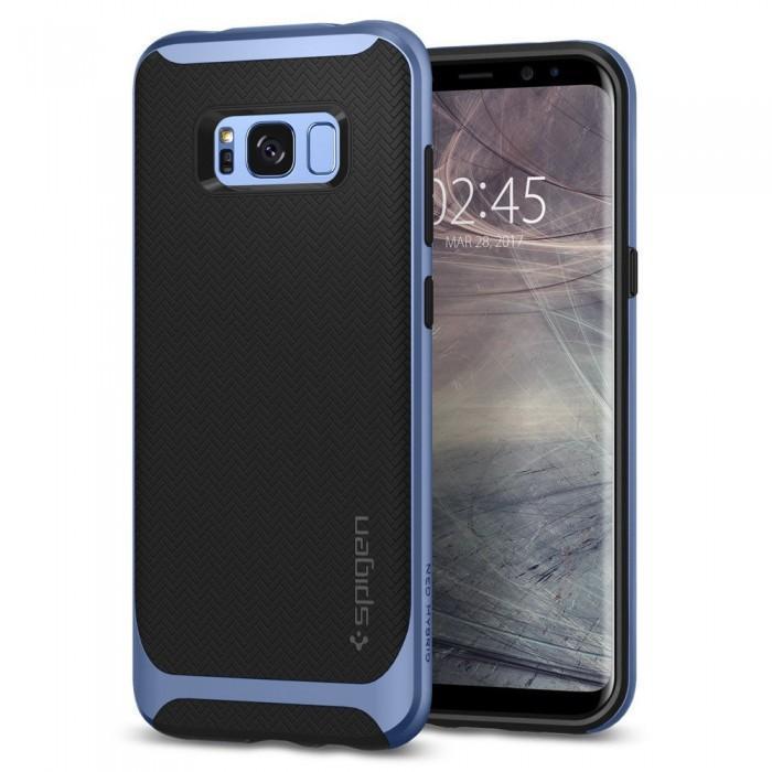 Чехол-накладка Spigen Neo Hybrid для Samsung Galaxy S8 голубой (SGP 565CS21598)для Samsung<br>Чехол-накладка Spigen Neo Hybrid для Samsung Galaxy S8 голубой (SGP 565CS21598)<br>