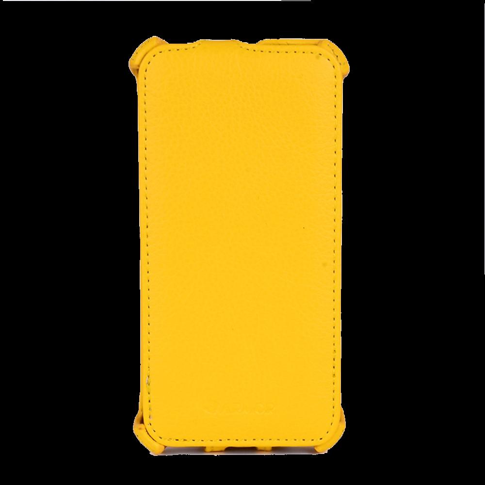 Чехол-книжка Armor Flip Case для Huawei Ascend P6 искусственная кожа желтый