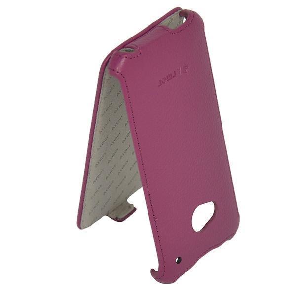 Чехол-книжка Armor Case для HTC One M7 Dual Sim искусственная кожа фиолетовыйдля HTC<br>Чехол-книжка Armor Case для HTC One M7 Dual Sim искусственная кожа фиолетовый<br>