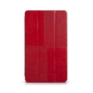 Чехол-книжка Hoco для Samsung Galaxy Tab S 8.4 (SM-T700 / SM-T705) натуральная кожа Red