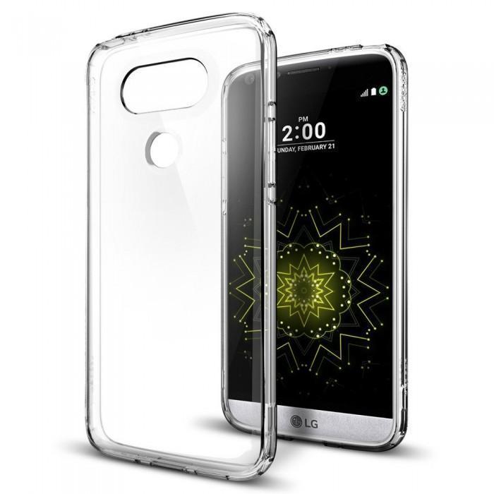 Чехол-накладка Spigen Ultra Hybrid для LG G5 кристально-прозрачный (SGP A18CS20129)