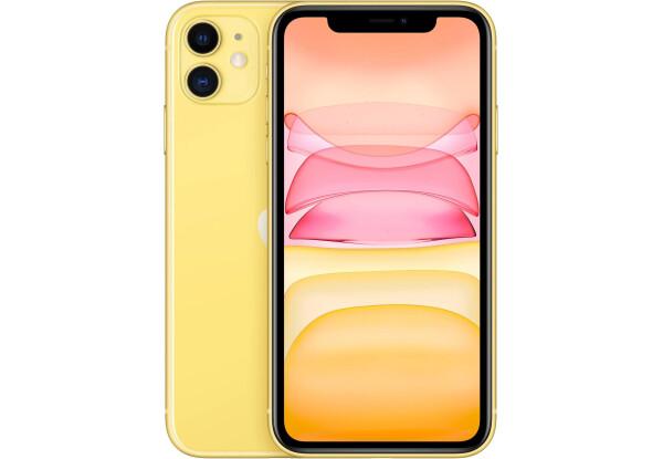Apple iPhone 11 64Gb (Yellow) (MHDE3RU/A)  (новая комплектация)