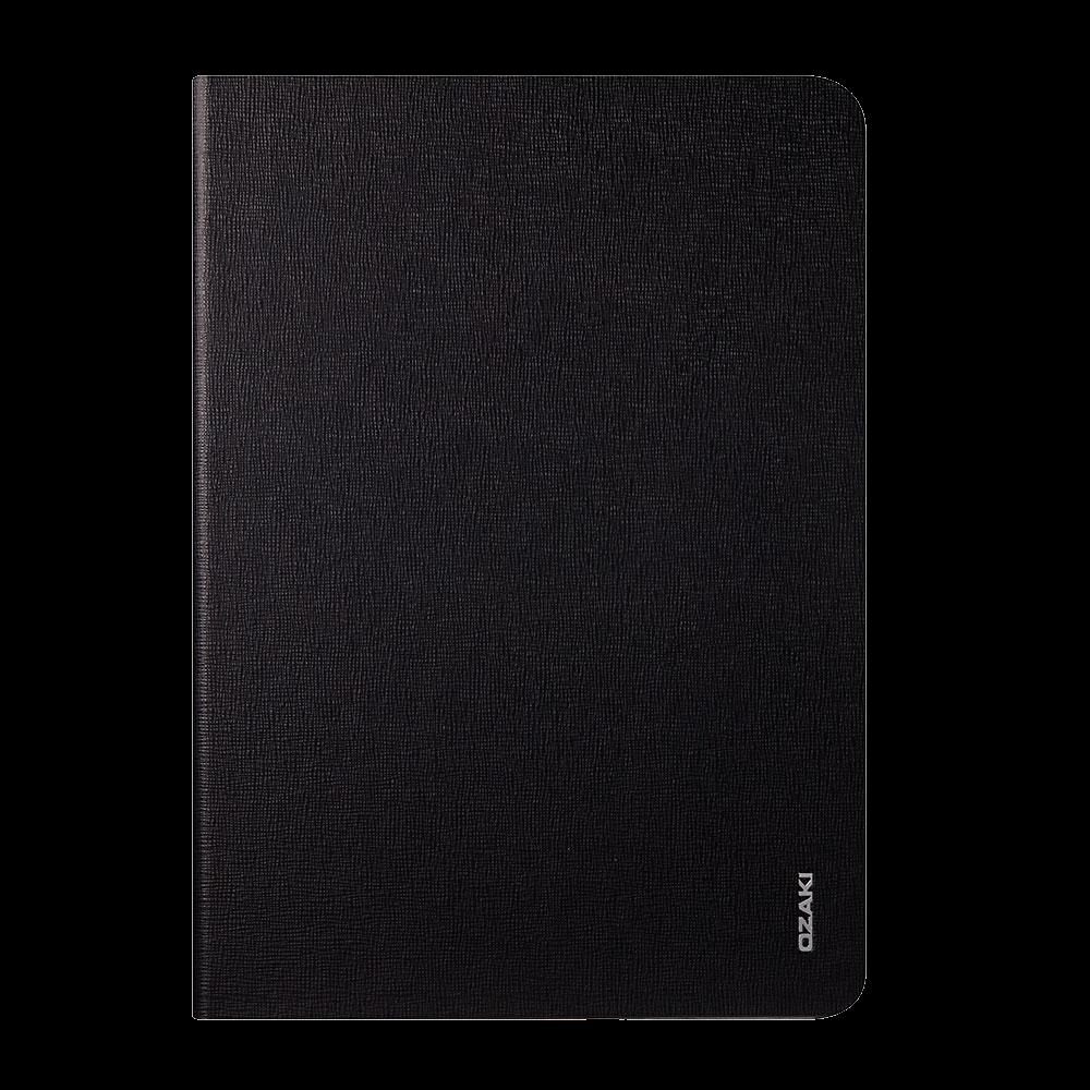 Чехол-книжка Ozaki O!coat Slim для Apple iPad Air (натуральная кожа с подставкой) черный