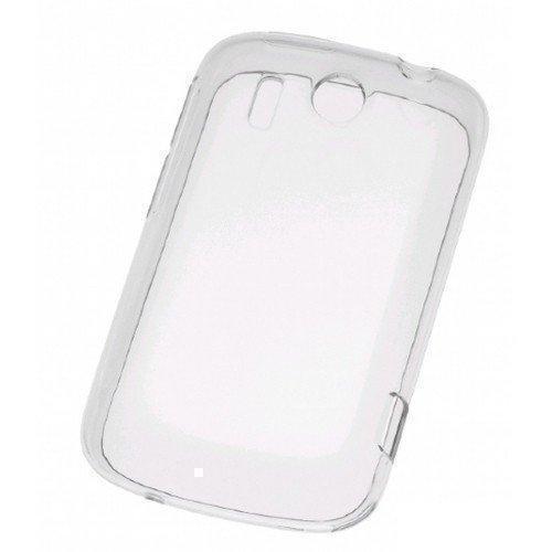 Чехол-накладка HTC для HTC Explorer (S690/C690) пластиковый (прозрачно белый) фото