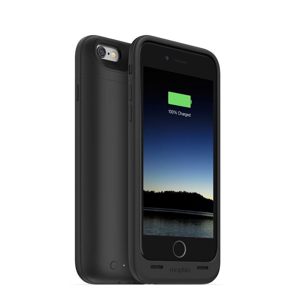 Чехол-аккумулятор Mophie Juice Pack Air 2750 mAh для Apple iPhone 6/6S черныйдля iPhone 6/6S<br>Чехол-аккумулятор Mophie Juice Pack Air 2750 mAh для Apple iPhone 6/6S черный<br>