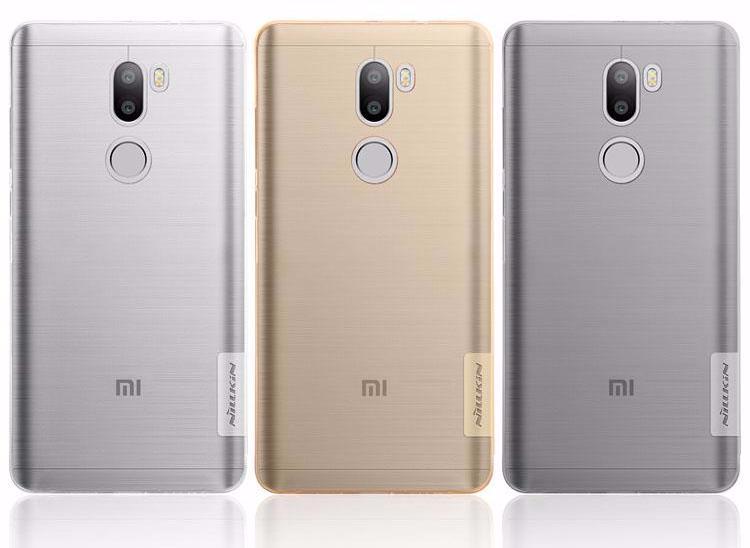 Чехол-накладка Nillkin Nature 0.6mm для Xiaomi Mi5S Plus силиконовый прозрачно-чёрныйдля Xiaomi<br>Чехол-накладка Nillkin Nature 0.6mm для Xiaomi Mi5S Plus силиконовый прозрачно-чёрный<br>