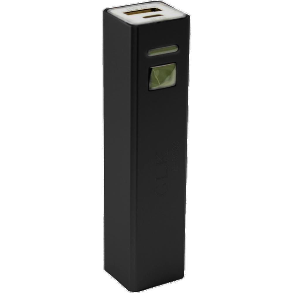 Внешний аккумулятор Power Bank GLK H-8003-101 2600mAh (чёрный)