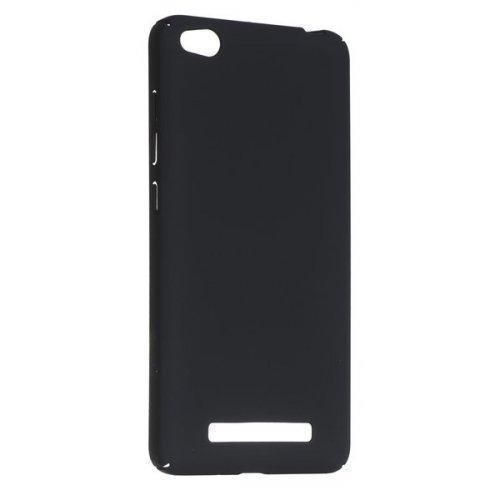 Купить Чехол-накладка для Xiaomi Redmi 4 / 4 Prime / 4 Pro пластиковый Soft-touch (черный)