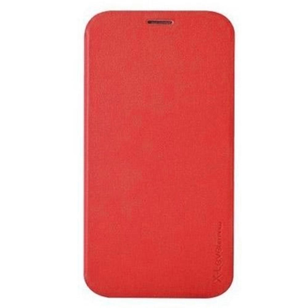 Чехол-книжка Pipilu FIBcolor X-Level для Samsung Galaxy Core 2 искусственная кожа/силикон (красный)