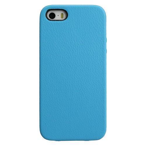 Чехол-накладка Jison Case для Apple iPhone SE/5S/5 Blueдля iPhone 5/5S/SE<br>Чехол-накладка Jison Case для Apple iPhone SE/5S/5 Blue<br>