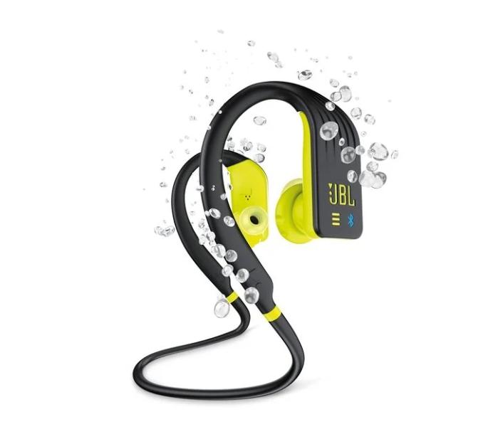 Беспроводные Bluetooth cтерео-наушники JBL Endurance DIVE (Yellow) (JBLENDURDIVEBNL)