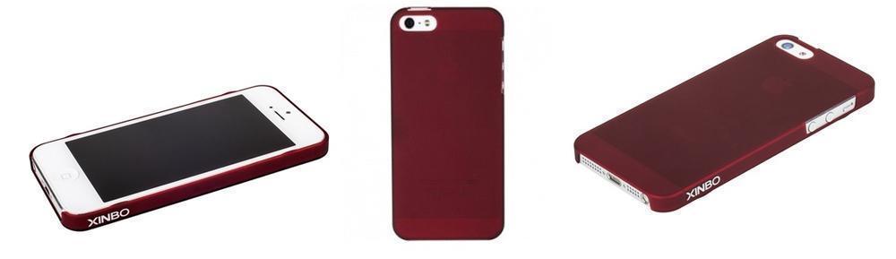 Чехол-накладка Xinbo 0.3mm для Apple iPhone SE/5S/5 пластиковый коричневыйдля iPhone 5/5S/SE<br>Чехол-накладка Xinbo 0.3mm для Apple iPhone SE/5S/5 пластиковый коричневый<br>
