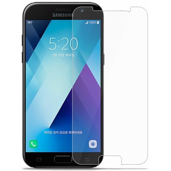 Защитное стекло Glass PRO для Samsung Galaxy A7 (2017) SM-A720 прозрачное антибликовое