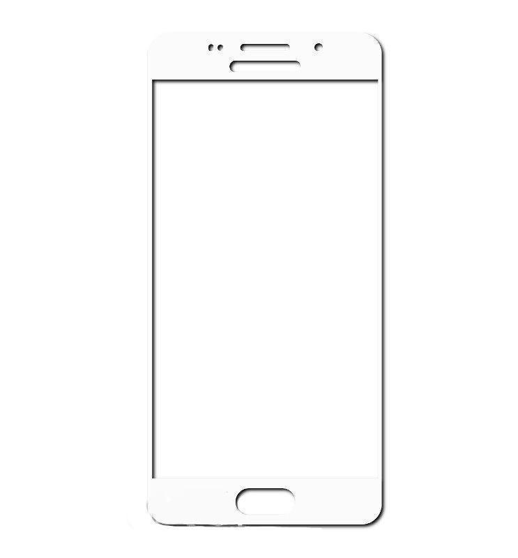 Защитное стекло Glass PRO (Full) Screen для Samsung Galaxy A3 (2016) SM-A310 цветное (белая рамка) фото