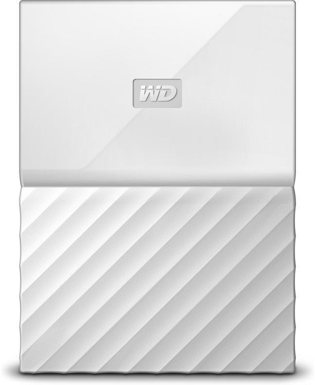 Внешний жесткий диск HDD  WD  4 TB  My Passport белый, 2.5, USB 3.0Жесткие диски<br>Внешний жесткий диск HDD  WD  4 TB  My Passport белый, 2.5, USB 3.0<br>