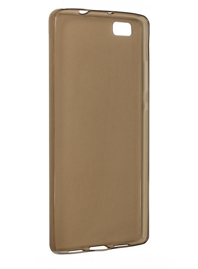 Чехол-накладка для Huawei P8 Lite силиконовый с бампером blackдля Huawei<br>Чехол-накладка для Huawei P8 Lite силиконовый с бампером black<br>