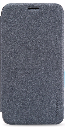 Чехол-книжка Nillkin Sparkle Series для Samsung Galaxy J1 (2016) SM-J120 пластик-полиуретан золотой