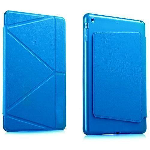 Чехол-книжка Gurdini Premium Leather для Apple iPad Air 2 (полиуретан с подставкой) голубойдля Apple iPad Air 2<br>Чехол-книжка Gurdini Premium Leather для Apple iPad Air 2 (полиуретан с подставкой) голубой<br>