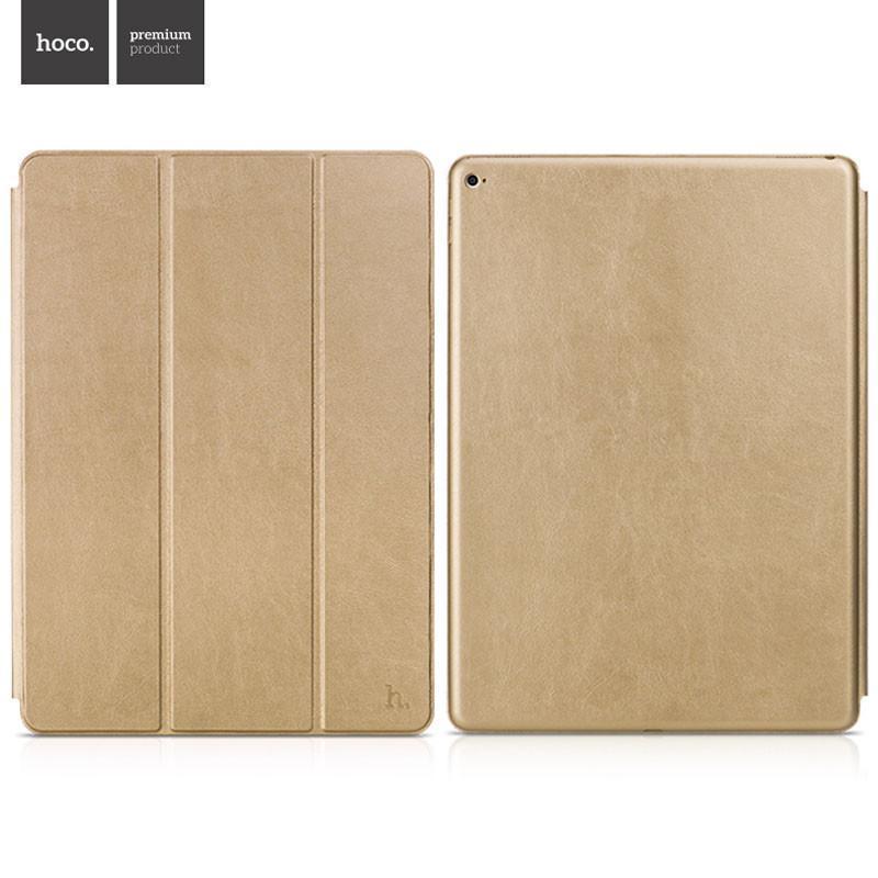 Чехол-книжка Hoco Sugar Series для Apple iPad Pro 12.9 (искусственная кожа с подставкой) золотой