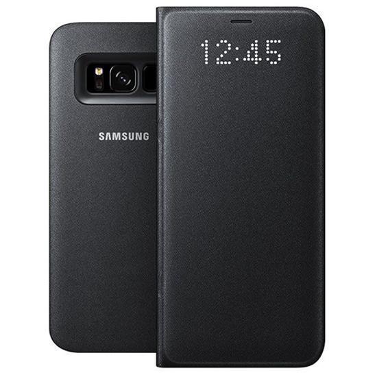 Чехол-книжка Samsung LED View Cover для Galaxy S8+ поликарбонат черныйдля Samsung<br>Чехол-книжка Samsung LED View Cover для Galaxy S8+ поликарбонат черный<br>