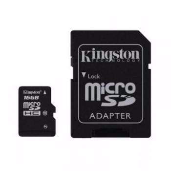 Картинка для Карта памяти Kingston MicroSDHC Class 10 UHS-I 45MB/s 16GB SDC10G2/16GB