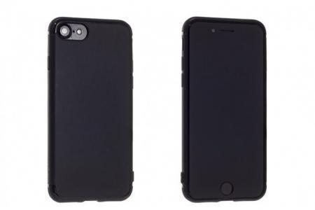 Купить со скидкой Чехол-накладка Rock Jello Series для Apple iPhone 7/8 силикон Light Black (RCP1144)