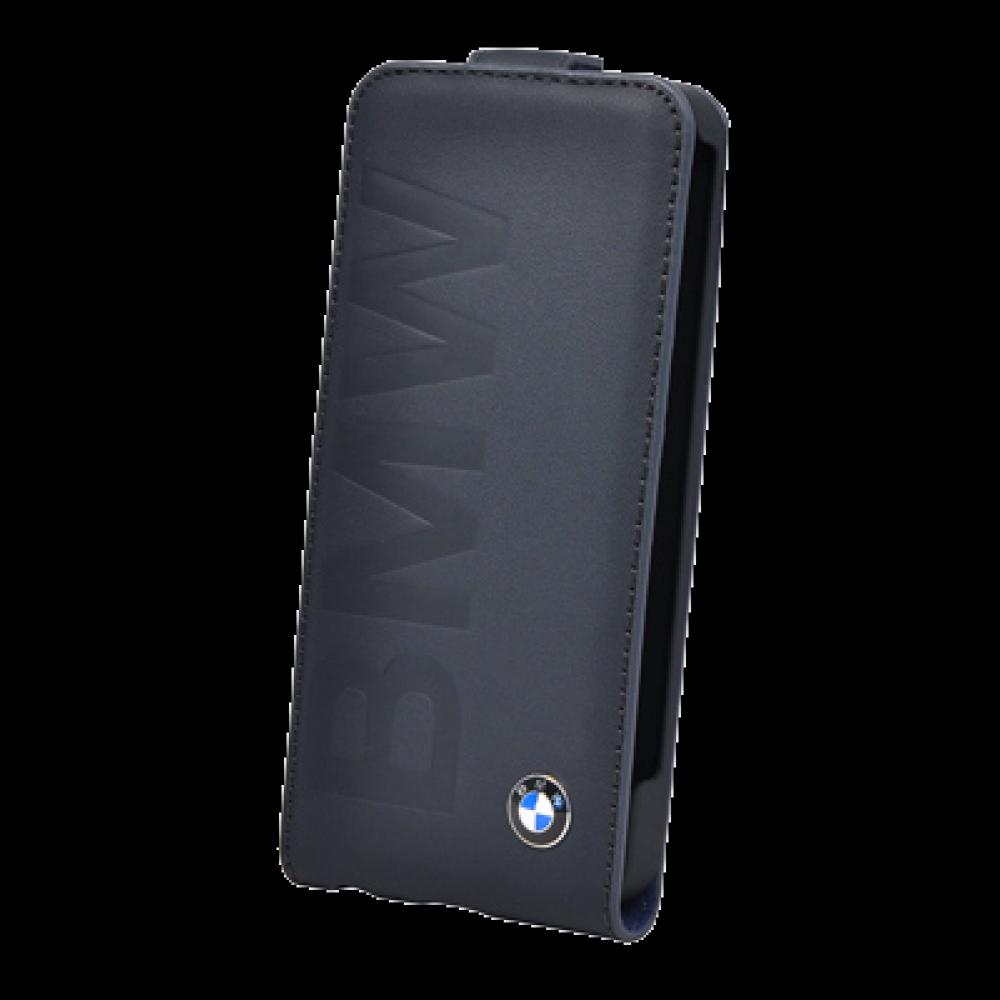 Чехол-книжка BMW Flap Case (BMFLP6LON) для Apple iPhone 6/6S натуральная кожа черныйдля iPhone 6/6S<br>Чехол-книжка BMW Flap Case (BMFLP6LON) для Apple iPhone 6/6S натуральная кожа черный<br>