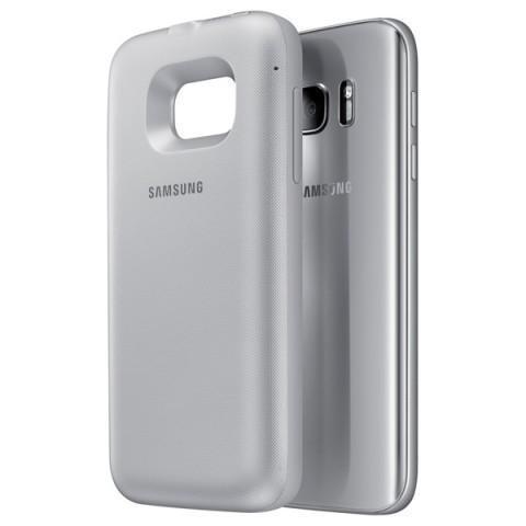Чехол-аккумулятор Samsung Backpack 2700 mAh для Galaxy S7 пластик серебристый (EP-TG930BSRGRU)для Samsung<br>Чехол-аккумулятор Samsung Backpack 2700 mAh для Galaxy S7 пластик серебристый (EP-TG930BSRGRU)<br>