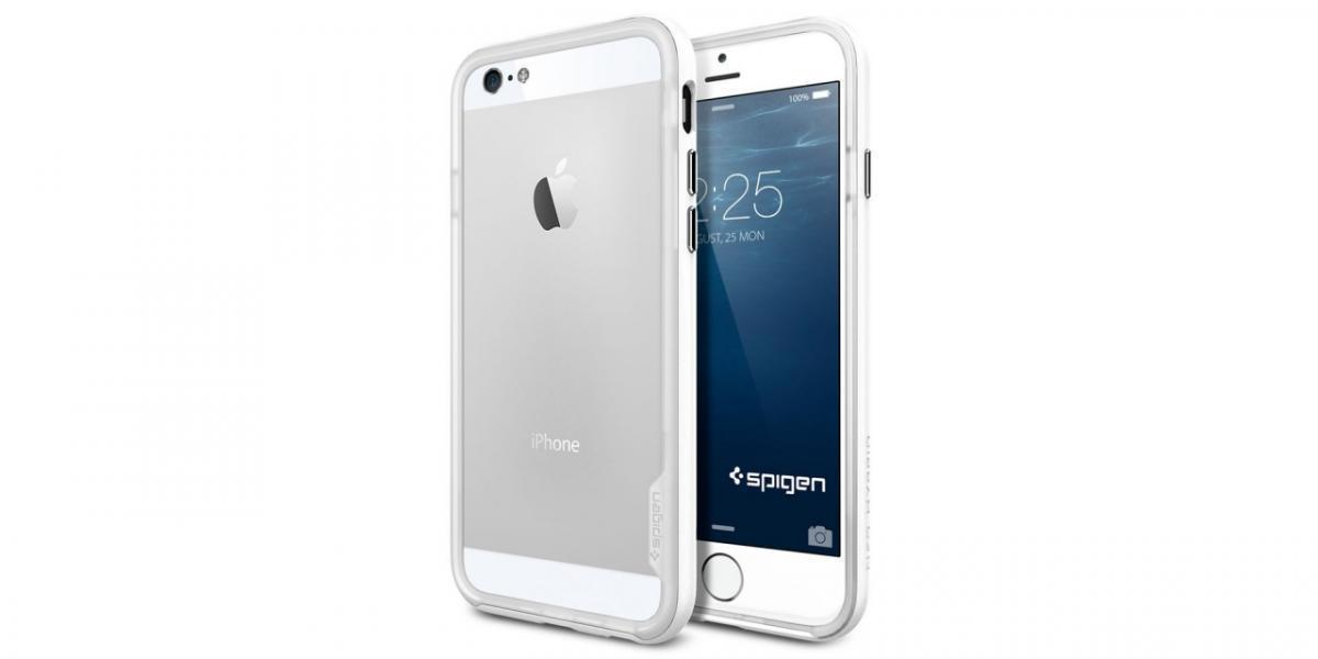 Чехол-бампер Spigen Neo Hybrid EX Metal для Apple iPhone 6/6S Infinity White (SGP11029)для iPhone 6/6S<br>Чехол-бампер Spigen Neo Hybrid EX Metal для Apple iPhone 6/6S Infinity White (SGP11029)<br>
