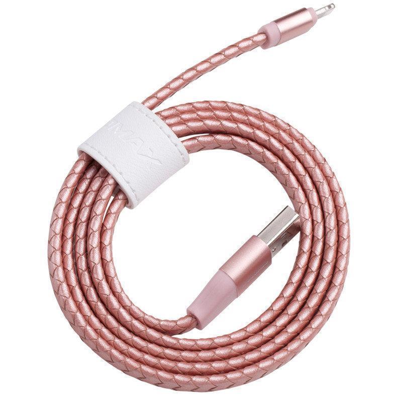 Кабель Momax Elite Link Pro MFI (USB) на (Lightning) 100см Rose Gold(Apple lightning) кабели, переходники, адаптеры<br>Кабель Momax Elite Link Pro MFI (USB) на (Lightning) 100см Rose Gold<br>
