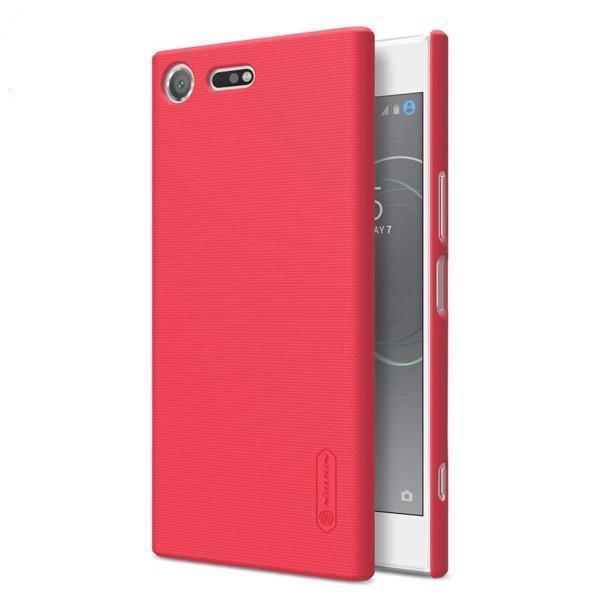 Чехол-накладка Nillkin Frosted Shield для Sony Xperia XZ / XZ Dual пластиковый красныйдля Sony<br>Чехол-накладка Nillkin Frosted Shield для Sony Xperia XZ / XZ Dual пластиковый красный<br>