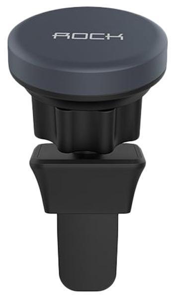 Держатель автомобильный Rock Air Vent Magnetic (B Version) в воздуховод для телефона Dark BlueДержатель в воздуховод<br>Держатель автомобильный Rock Air Vent Magnetic (B Version) в воздуховод для телефона Dark Blue<br>