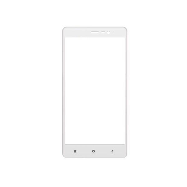 Защитное стекло Glass PRO (Full) Screen для Xiaomi Redmi Note 3 / 3 Pro цветное белая рамка фото
