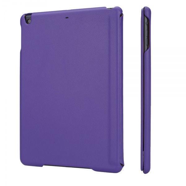 Чехол-книжка JisonCase Executive для Apple iPad Air (натуральная кожа с подставкой) purpleдля Apple iPad Air<br>Чехол-книжка JisonCase Executive для Apple iPad Air (натуральная кожа с подставкой) purple<br>