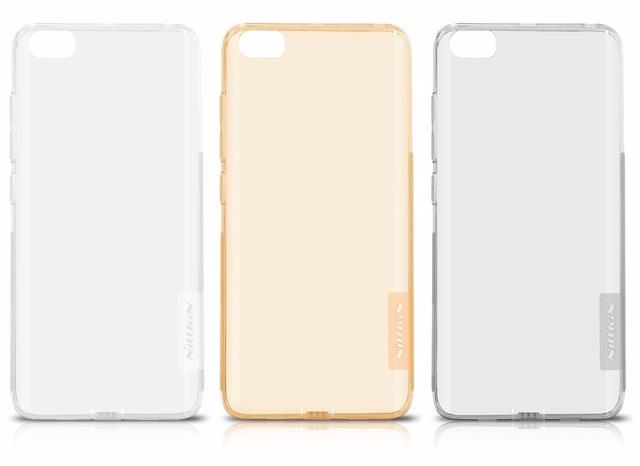 Чехол-накладка Nillkin Nature для Xiaomi Mi5 силиконовый прозрачно-черныдля Xiaomi<br>Чехол-накладка Nillkin Nature для Xiaomi Mi5 силиконовый прозрачно-черны<br>