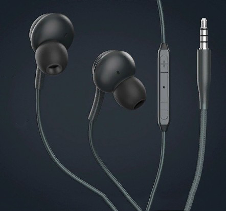 Проводная стерео-гарнитура Devia Smart Series Wired Earphone Black