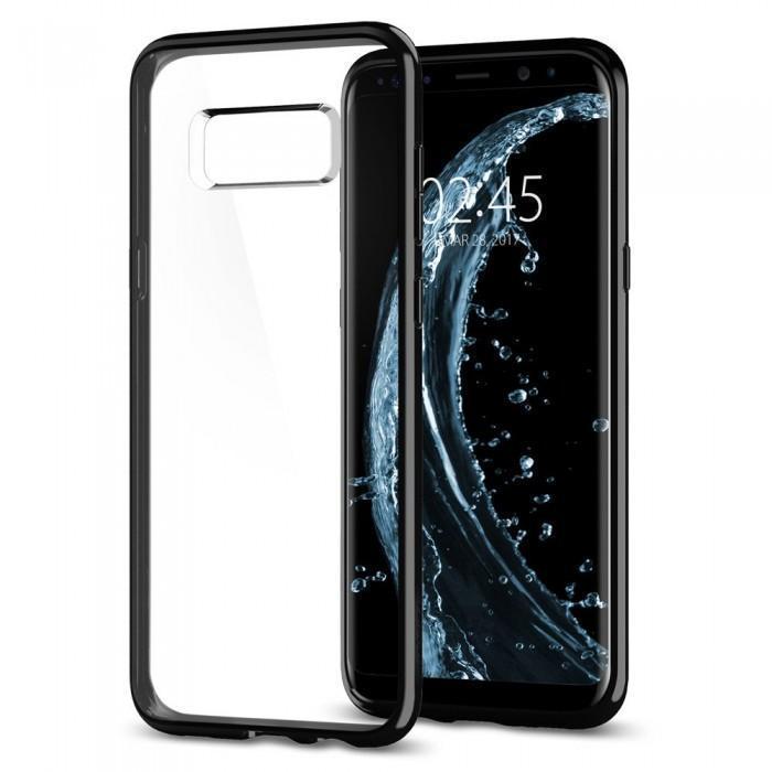 Чехол-накладка Spigen Ultra Hybrid для Samsung Galaxy S8 черный оникс (SGP 565CS21630)для Samsung<br>Чехол-накладка Spigen Ultra Hybrid для Samsung Galaxy S8 черный оникс (SGP 565CS21630)<br>