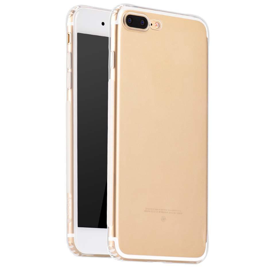 Чехол-накладка Hoco Feather Series Anti-Slip для Apple iPhone 7 Plus/8 Plus силиконовая прозрачнаядля iPhone 7 Plus/8 Plus<br>Чехол-накладка Hoco Feather Series Anti-Slip для Apple iPhone 7 Plus/8 Plus силиконовая прозрачная<br>