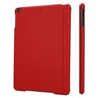 Купить со скидкой Чехол-книжка Jisoncase для Apple iPad Air/Air 2 (искусственная кожа с подставкой) красный
