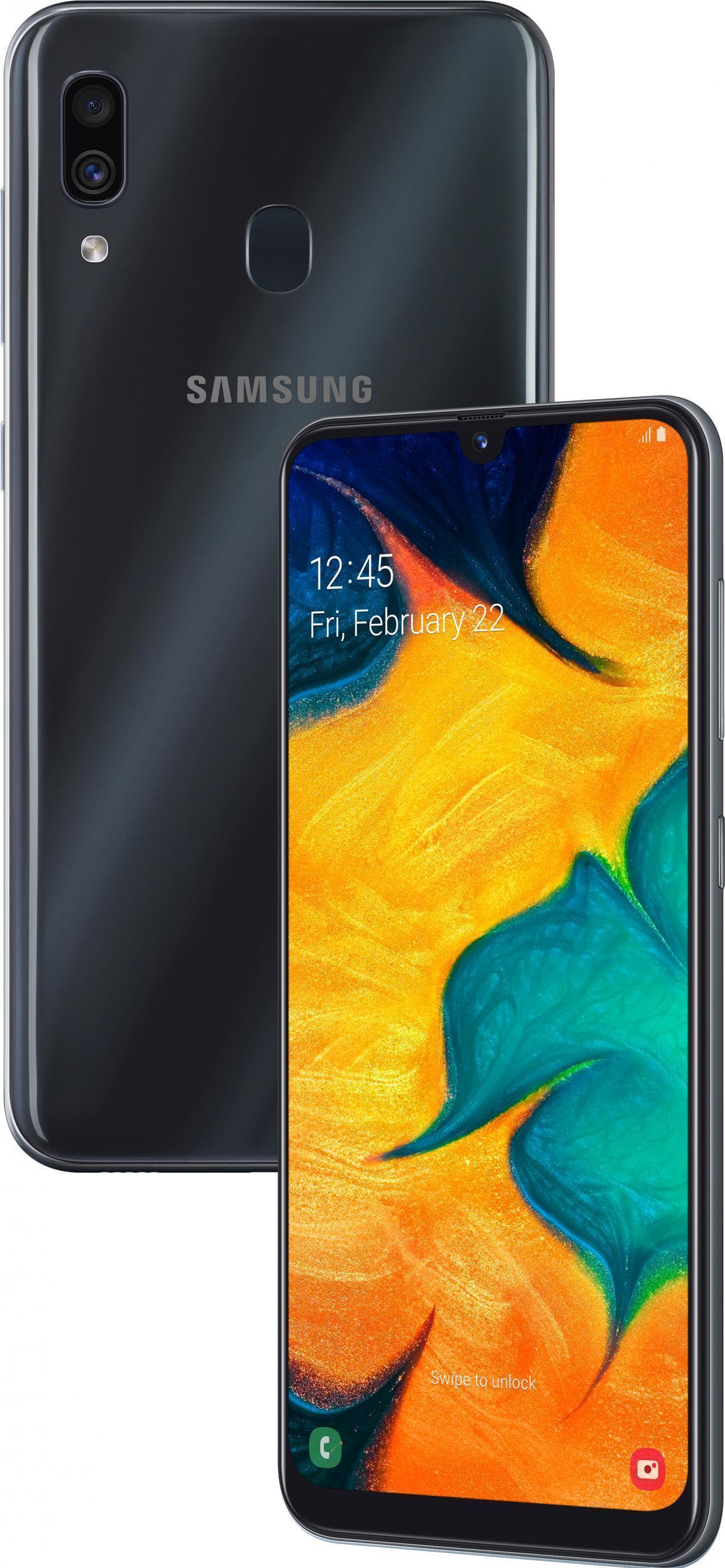 Samsung Galaxy A30 (2019) (SM-A305FN/DS) 32Gb Black (SM-A305FZKUSER)
