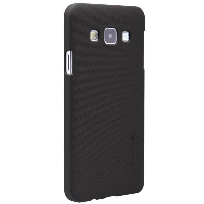 Купить Чехол-накладка Nillkin Frosted Shield для Samsung Galaxy A3 SM-A300 пластиковый (черный)