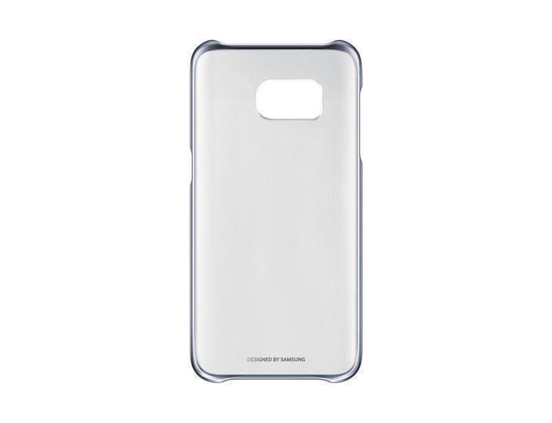 Чехол-накладка Samsung Clear Cover для Galaxy S7 (EF-QG930CBEGRU) черныйдля Samsung<br>Чехол-накладка Samsung Clear Cover для Galaxy S7 (EF-QG930CBEGRU) черный<br>
