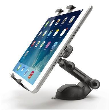 Автомобильный держатель для планшетов Onetto Smart Tab 2 (7-10) Дюймов на торпеду, стекло GP9&amp;SM7Держатель на стекло или торпеду<br>Автомобильный держатель для планшетов Onetto Smart Tab 2 (7-10) Дюймов на торпеду, стекло GP9&amp;SM7<br>