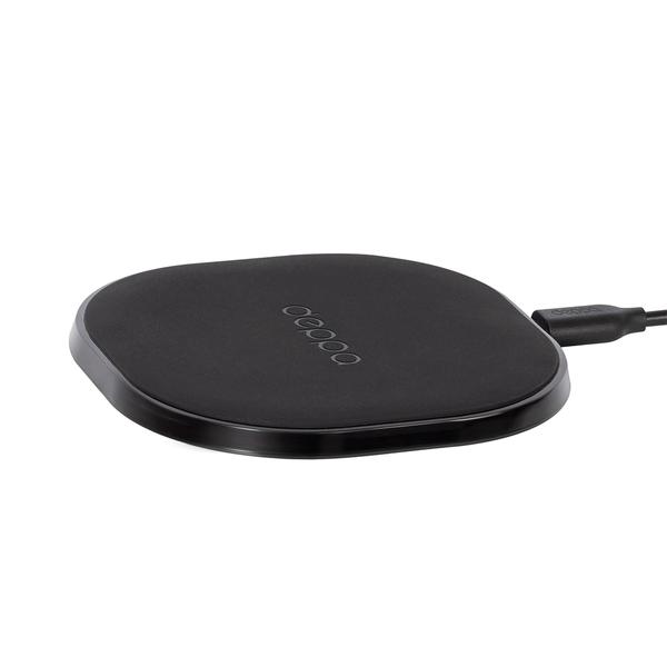 Беспроводное зарядное устройство Deppa Qi Fast Charger (24000)/10W BlackСетевые зарядные устройства для смартфонов/планшетов<br>Беспроводное зарядное устройство Deppa Qi Fast Charger (24000)/10W Black<br>