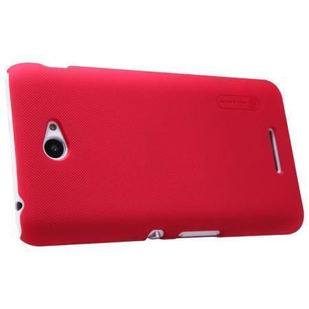 Чехол-накладка Nillkin Frosted Shield для Sony Xperia E4 / E4 Dual пластиковый красныйдля Sony<br>Чехол-накладка Nillkin Frosted Shield для Sony Xperia E4 / E4 Dual пластиковый красный<br>