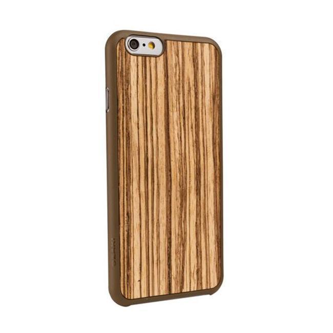 Чехол-накладка BECKBERG Wood  для Apple iPhone 6/6S под дерево коричневый (Орех)для iPhone 6/6S<br>Чехол-накладка BECKBERG Wood  для Apple iPhone 6/6S под дерево коричневый (Орех)<br>