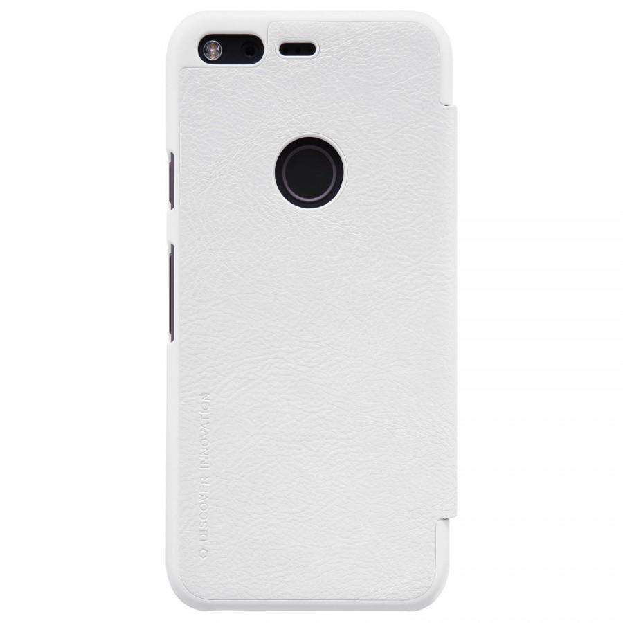 Купить Чехол-книжка Nillkin QIN Leather Case для Google Pixel XL натуральная кожа (белый)