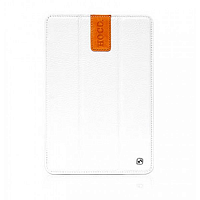 Купить Чехол-книжка Hoco Litchi Leather Series для Apple iPad mini 1/2/3 (белый)