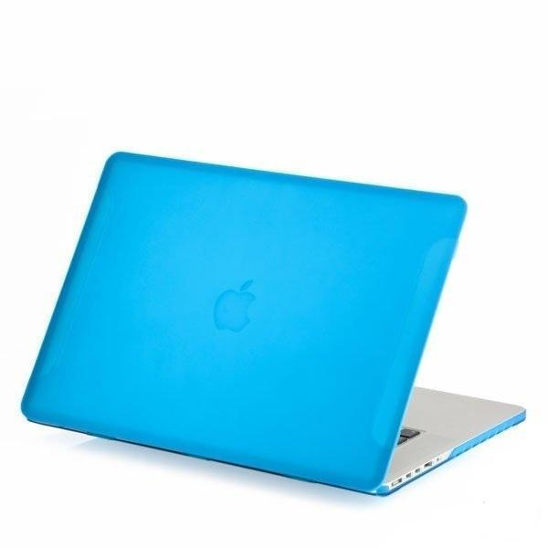 Чехол BTA-Worksh для Apple MacBook Pro 15 with Touch Bar Late (2016) матовый прозрачно-синий
